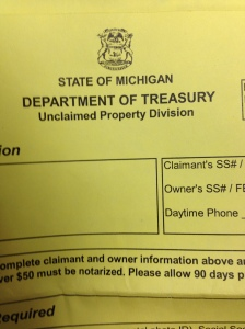 "Who has your ""Unclaimed Property""?"